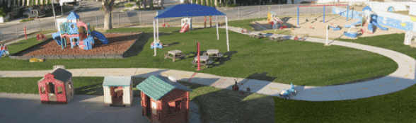 Ariel View of Play Area at Kellie's Academy For Kids